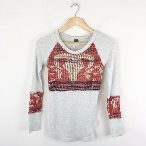 We The Free People Longhorn Knit Thermal